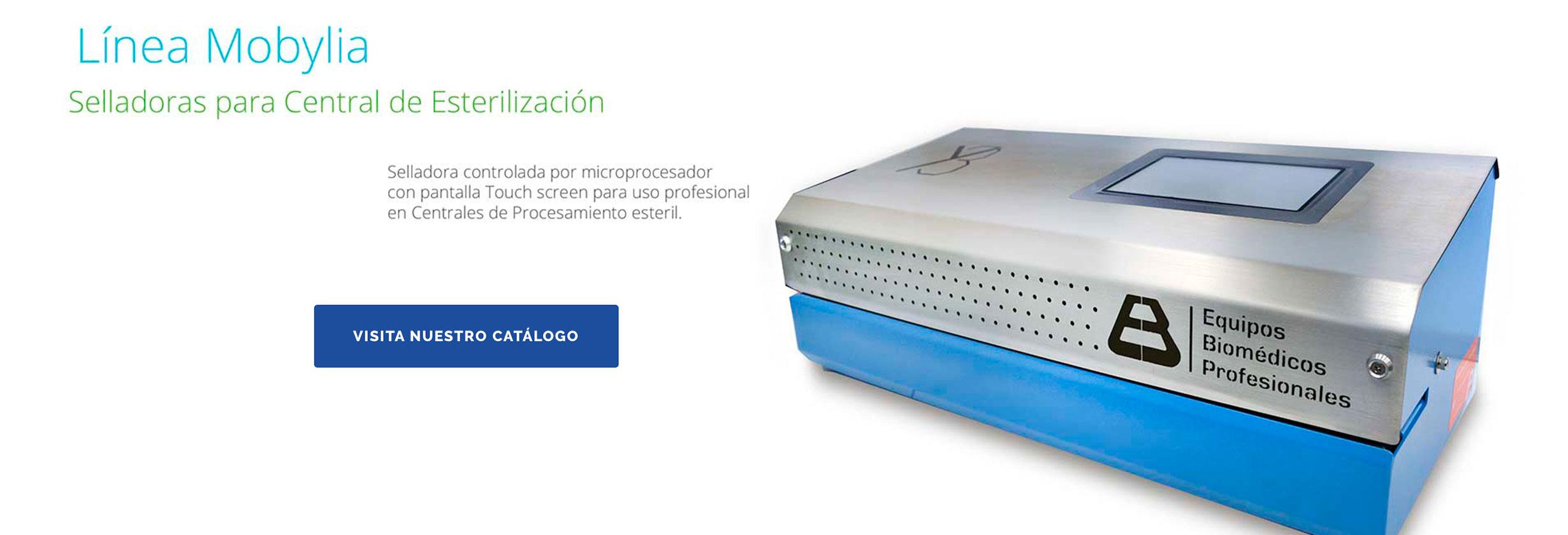 equipos-biomedicos_Selladora para central de esterilización / Normas, Embalaje y sellado